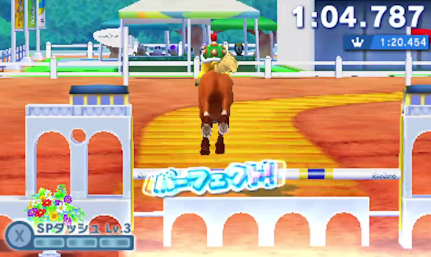 Bowser Jr. equestrian horse Mario & Sonic at the Rio 2016 Olympic Games