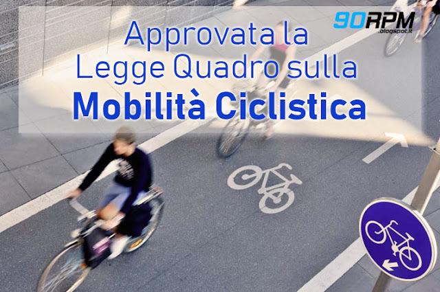 Nuova Legge Quadro sulla mobilità ciclistica: finalmente è approvata!
