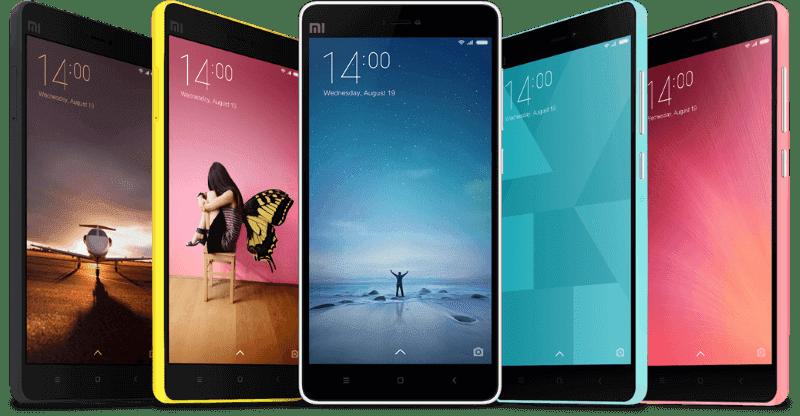 Feature rich MIUI Xiaomi smartphones
