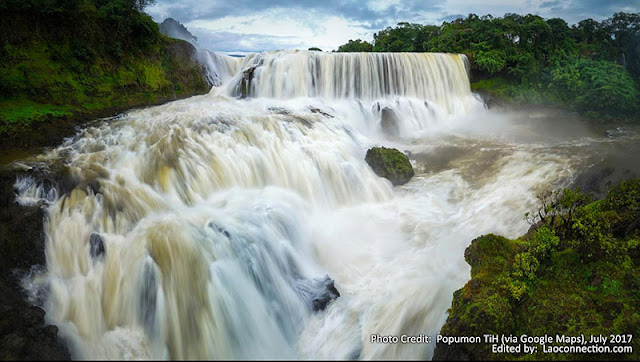 Waterfalls in Attapeu Laos