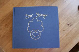 Dear Stranger Letterpress book by Anastasia Palmer