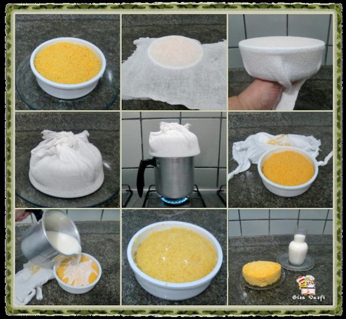 Cuscuz de leite ou de milho 6