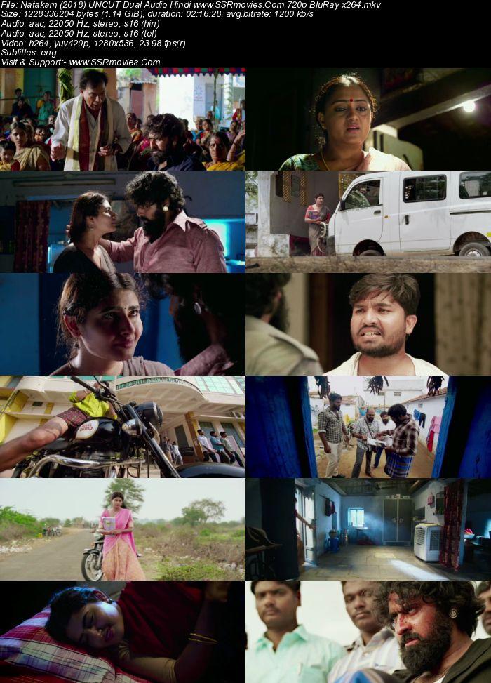 Natakam (2018) UNCUT Dual Audio Hindi 480p BluRay x264 450MB Movie Download