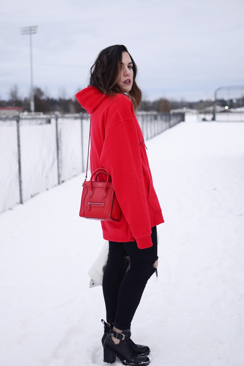 How To Wear An Oversized Hoodie | Covet U0026 Acquire