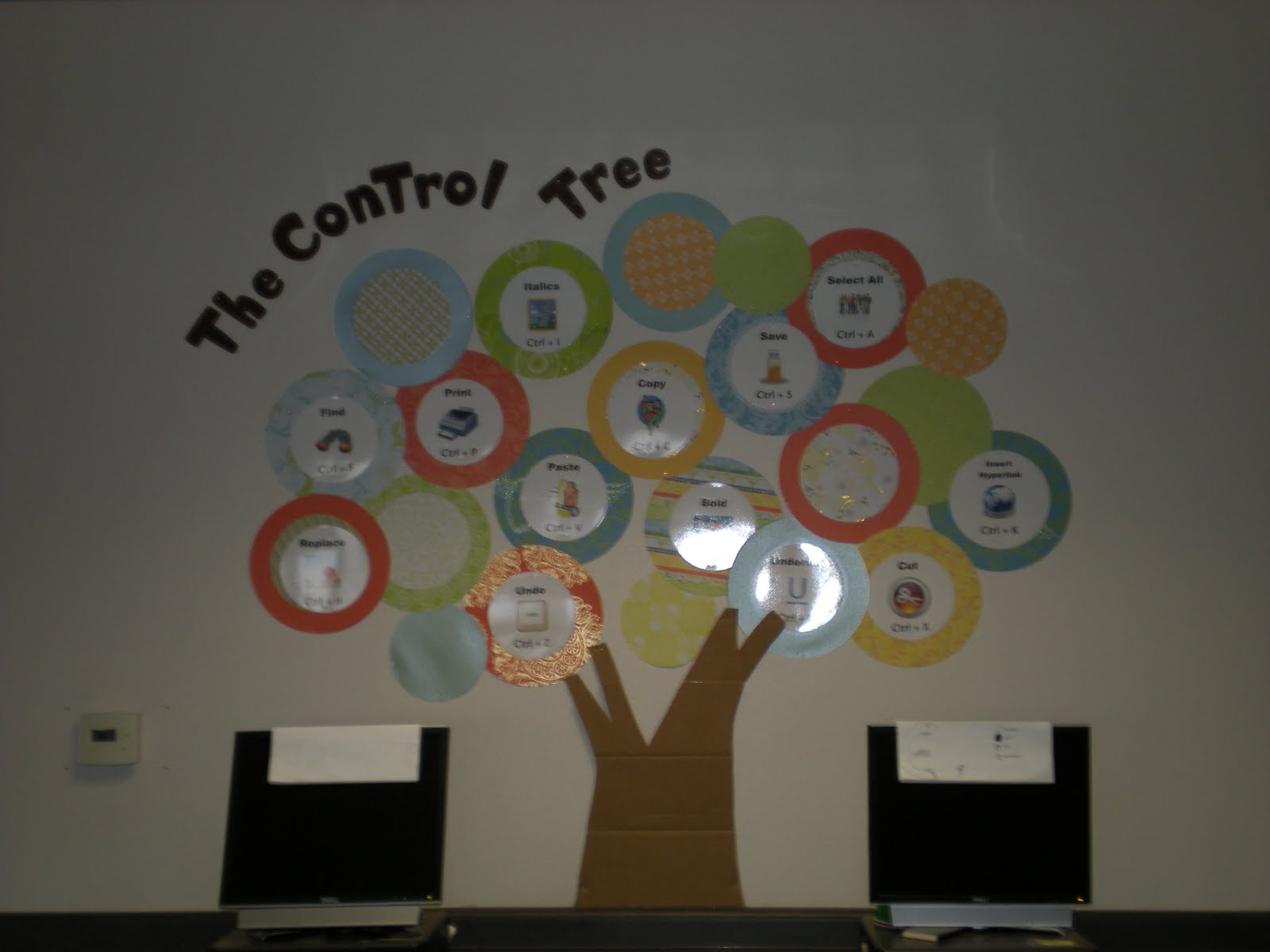 Awe Inspiring Computer Lab Bulletin Board Ideas Connecting The Bots Largest Home Design Picture Inspirations Pitcheantrous