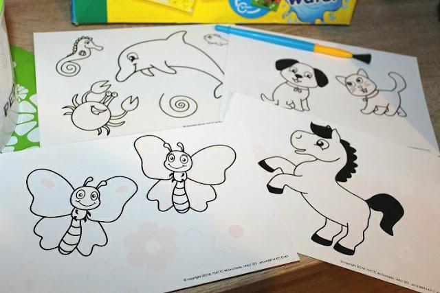 apprendre à colorier