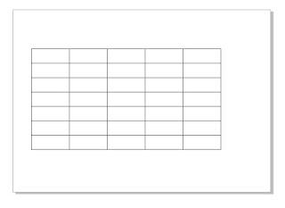 Tutorial penambahan kolom di corel draw
