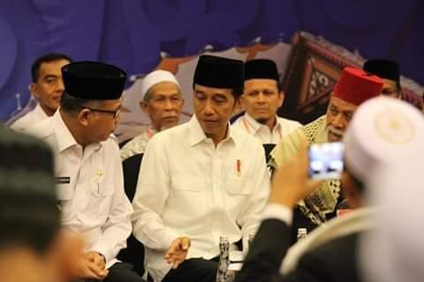 Silaturahmi Dengan Ulama Aceh Presiden Bahas RUU Pesantren