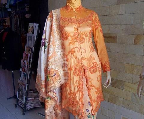 model baju gaun kebaya orang gemuk