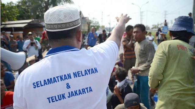 Nelayan Ditangkap gara-gara Kritik Pengembang Proyek Reklamasi