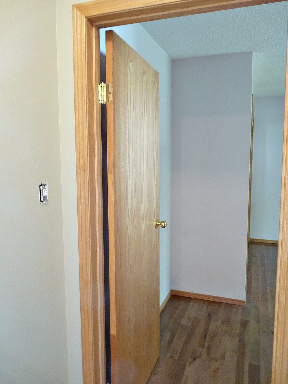 Paint Oak Doors White Before and After