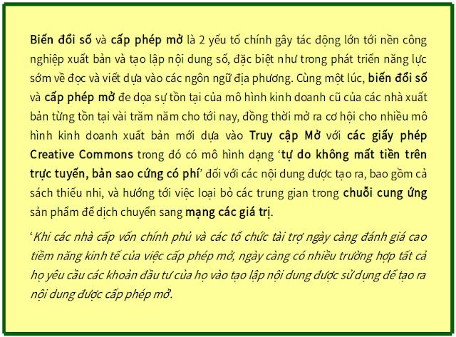 Tác động của việc cấp phép mở lên hệ sinh thái của các độc giả sớm - Bản dịch sang tiếng Việt