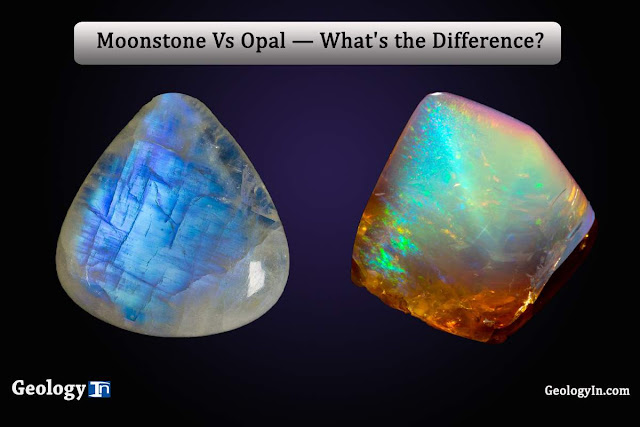 Moonstone Vs Opal — What's the Difference?