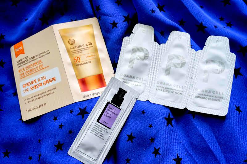 próbki azjatyckich kosmetyków próbki koreańskich kosmetyków kbeauty roserose shop cosrx asian skin care koreańskie kosmetyki