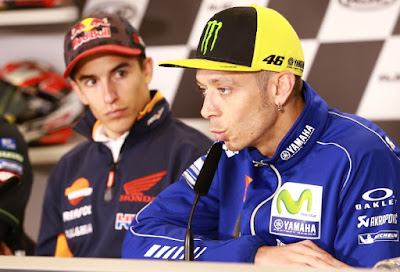 Rossi - Marquez Berharap Yang Terbaik Untuk Hayden dan Keluarga