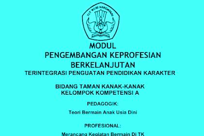 Download Modul Materi PKB TK Terlengkap