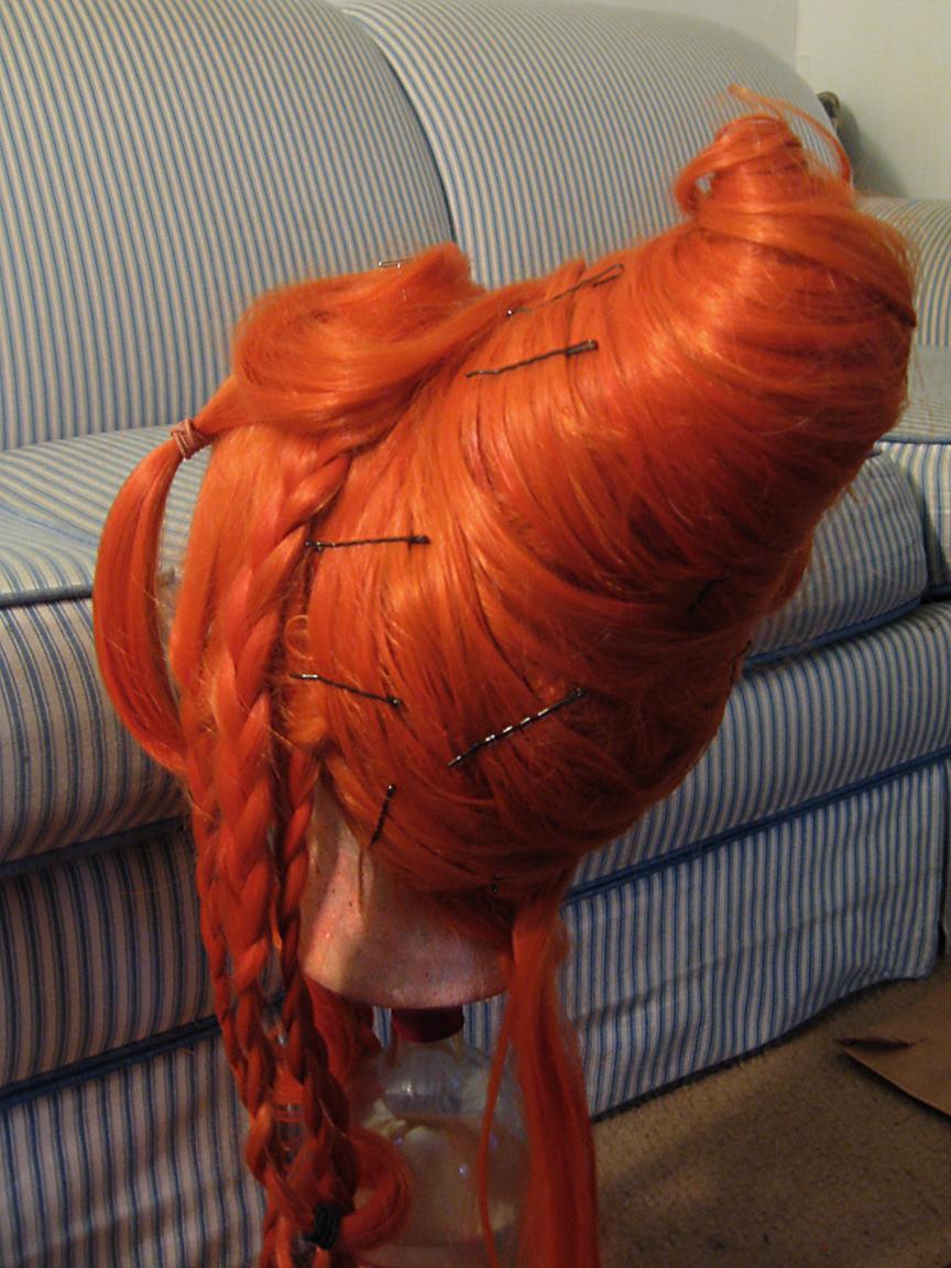 Kilayi S Cosplay Flame Princess Wig Progress Information