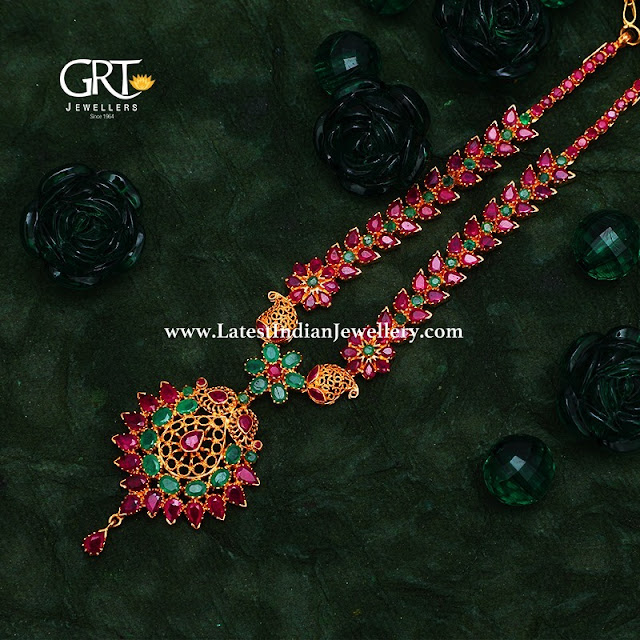 35gms Ruby Necklaces from GRT