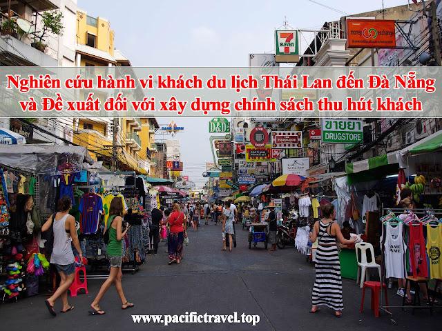 Nghiên cứu hành vi khách du lịch Thái Lan đến Đà Nẵng