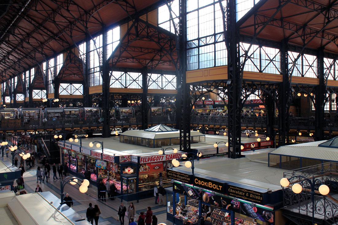 Il mercato di Vásárcsarnok