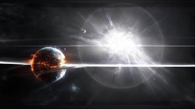 imagen ilustrativa de una supervona en explosion acabando con la tierrra