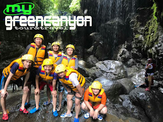 body rafting di green canyon