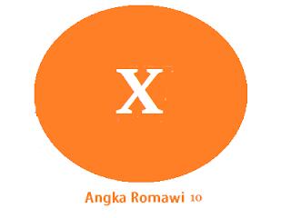 Angka Romawi 10 adalah