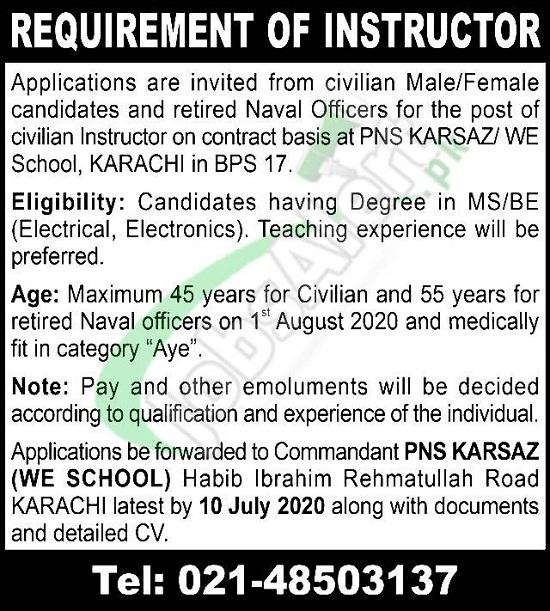 pak-navy-civilian-jobs-karachi-2020