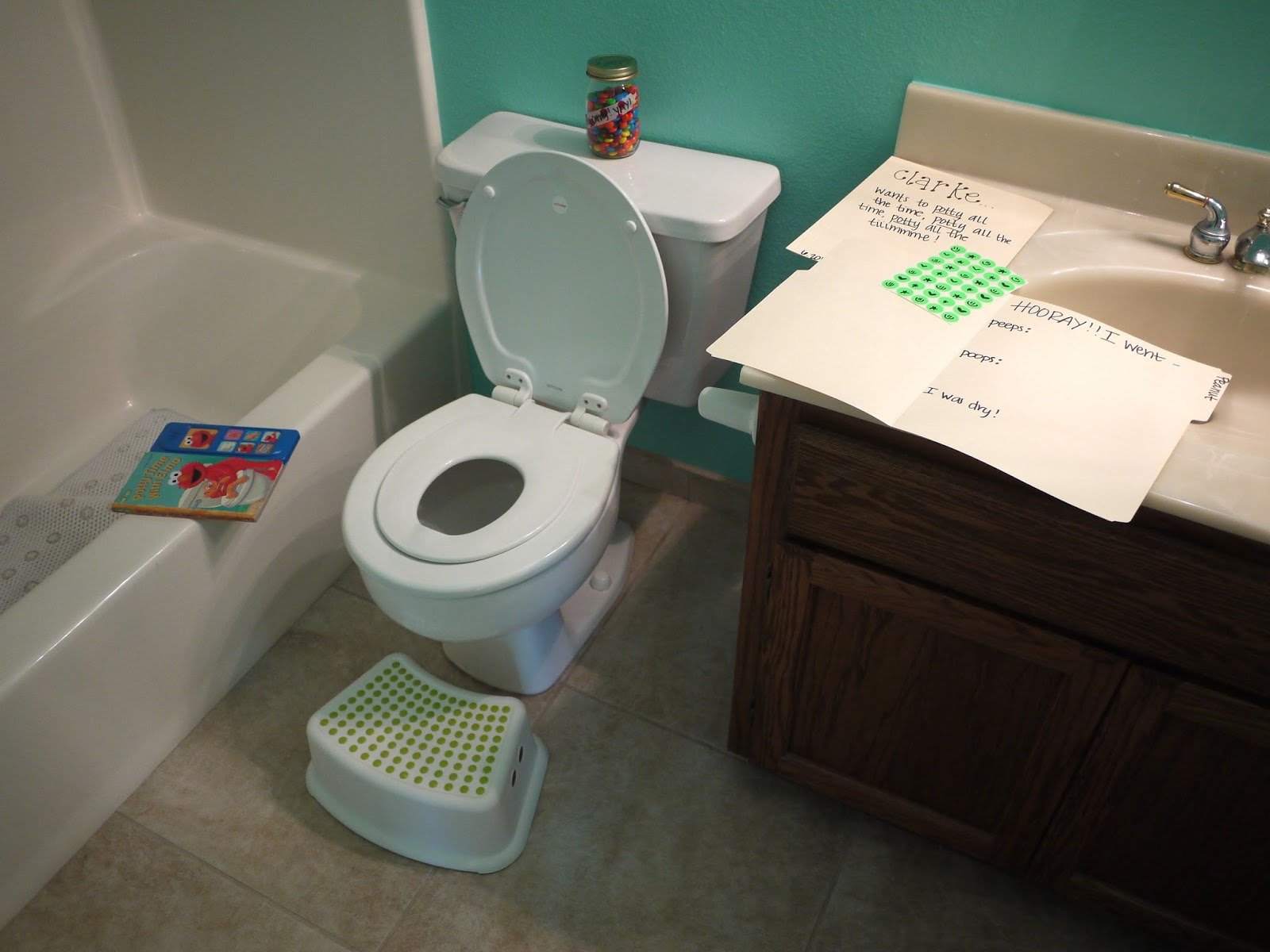 Potty Training Trial Run | THRIVING WIVES