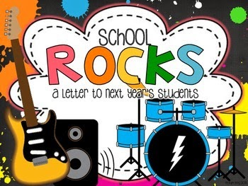 http://www.teacherspayteachers.com/Product/School-Rocks-An-end-of-year-writing-prompt-and-craftivity-1234905