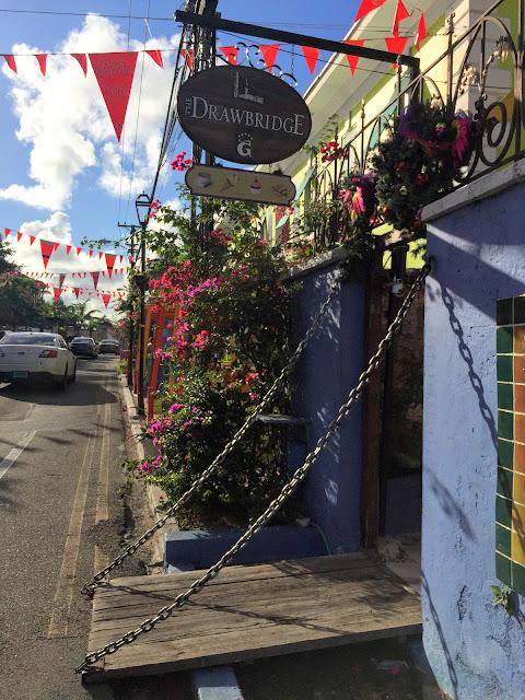 Drawbridge Gelato Shop, Heritage Village, Nassau - curiousadventurer.blogspot.com