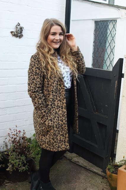 Primark Leopard Print Coat