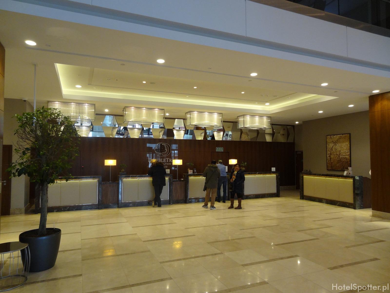 DoubleTree by Hilton Warsaw - recepcja