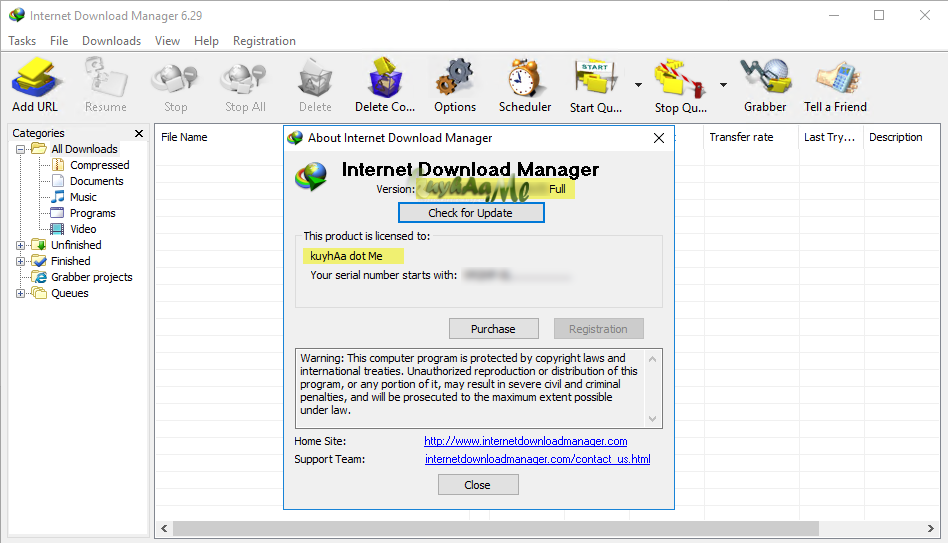Internet Download Manager IDM