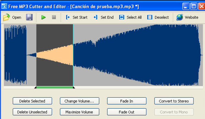 Free Mp3 Cutter Editor Softonic Download   all about software