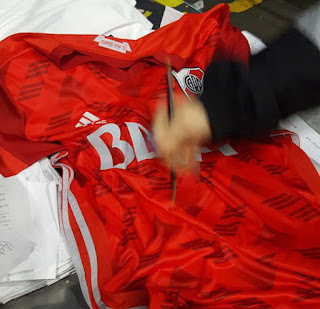 Nueva, Camiseta, River, River Plate, Suplente, Simil 1994, Mundial 1994, Yugoslavia, Holanda,, 2016, 2017, BBVA Frances, Banco Frances, Huawei