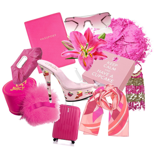 Pink Colour Personality