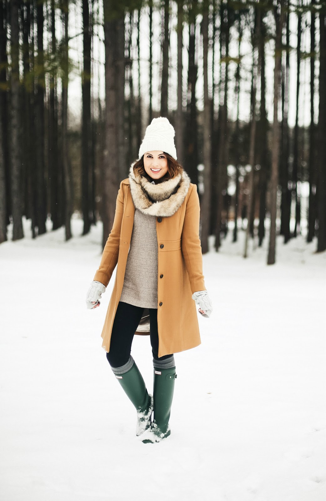 jcrew lady day coat winter outfit