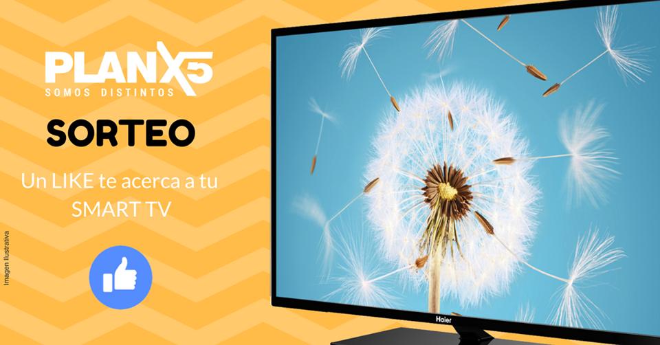 Anotate gratis y gana un Smart TV