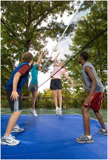 Back to School Benefits with Sport Court