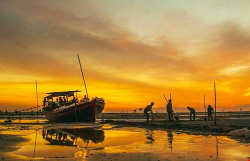Chùm ảnh đẹp về bãi biển Đồng Châu Thái Bình Phần 1-10