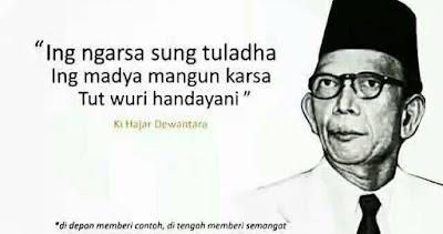 Makna dari Semboyan Ki Hajar Dewantara yang Terkenal