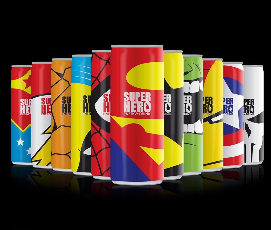 Packaging Of Energy Drinks