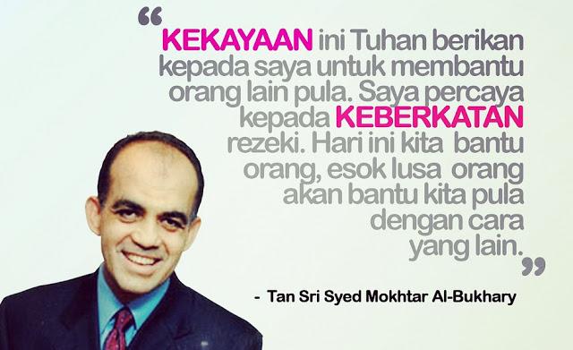 49 Nasihat Syed Mokhtar Al-Bukhary Khas Buat Para Usahawan & Bakal Usahawan.