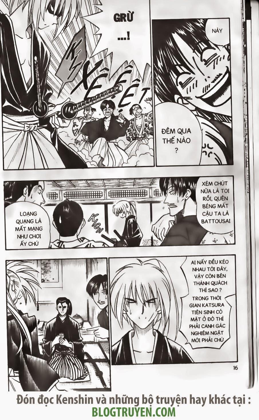 Rurouni Kenshin chap 168 trang 14