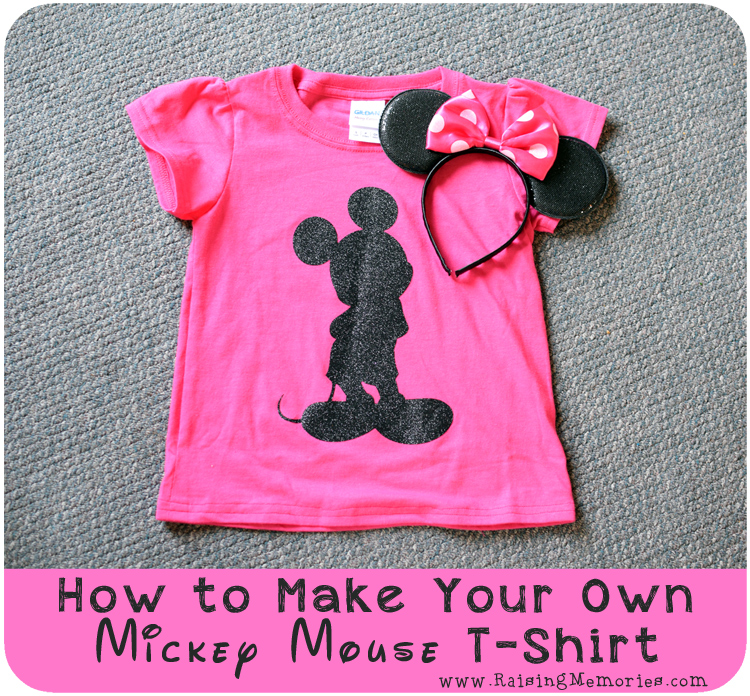 DIY Disney T Shirts with Cricut