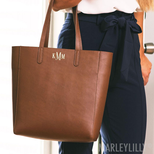 The Leather Tote Bag