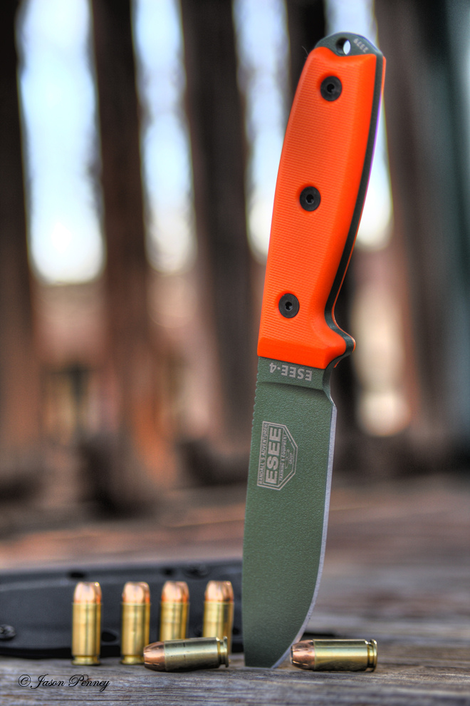 El Centavo's Gear Reviews: ESEE-4 Fixed Blade Knife Review