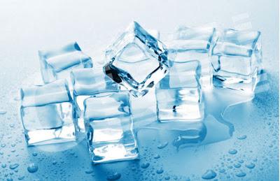 ais kiub hilangkan parut jerawat