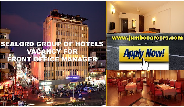 hotel management jobs kochi, front office manager jobs kochi, latest job openings in front office department in kochi